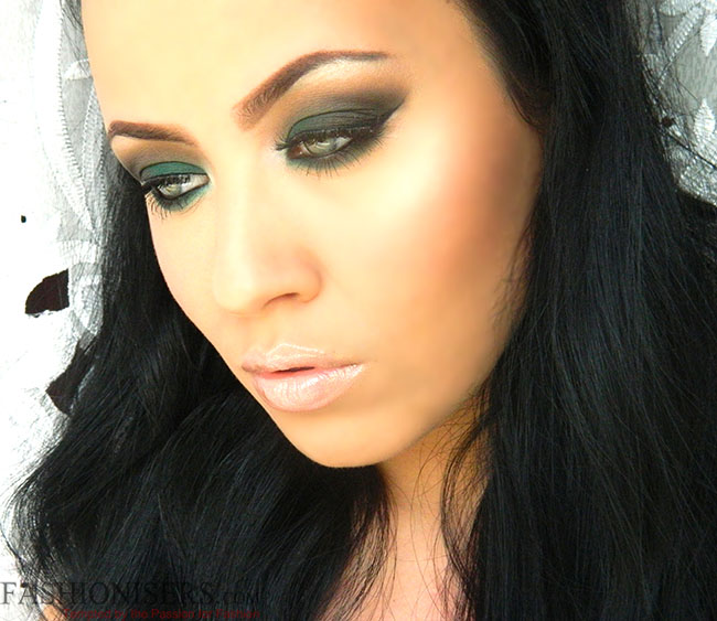 Emerald Green Smokey Eye Makeup Tutorial