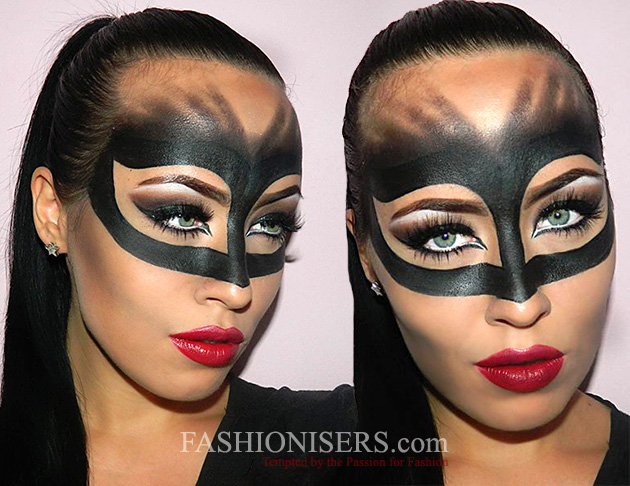 Catwoman Makeup Tutorial For Halloween Fashionisers