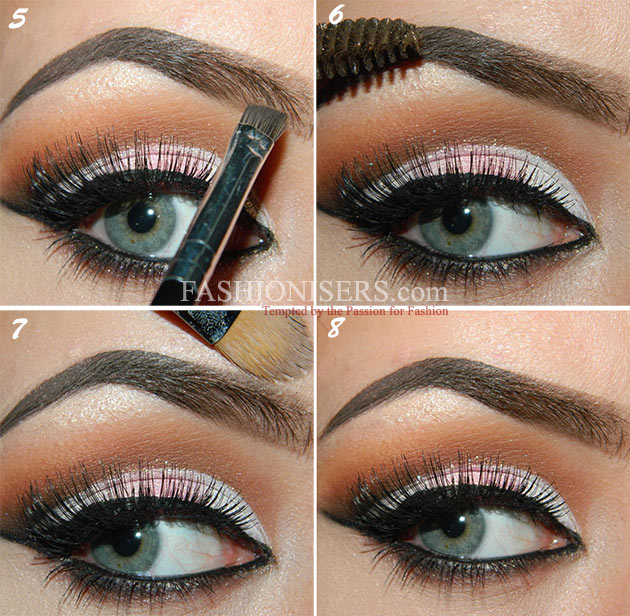 Step By Step Tutorial On How To Fill In Eyebrows Fashionisers