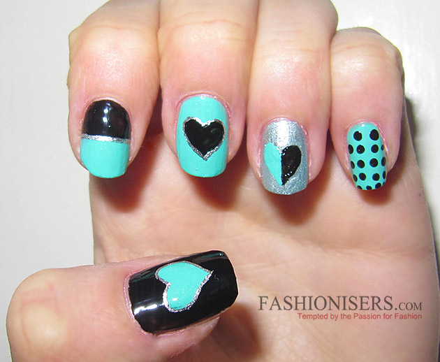 17 Love-Inspired Valentine's Day Nail Art Designs: Hearts Nails