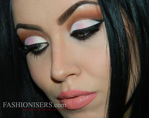 Pinky Watercolor Makeup Tutorial for Valentine's Day