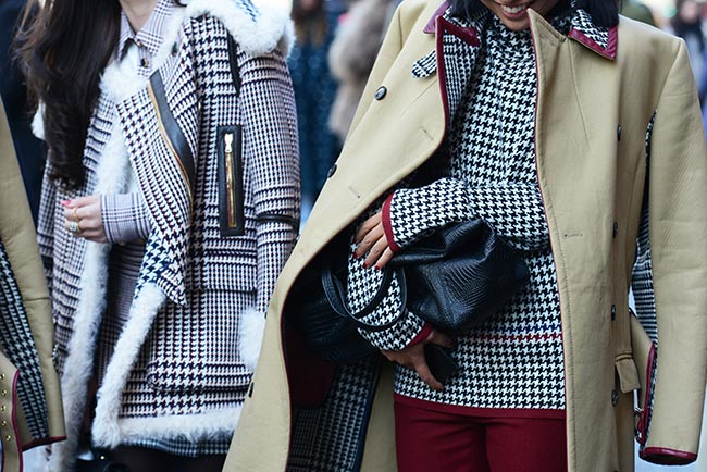 Fresh Ways to Wear Houndstooth Prints