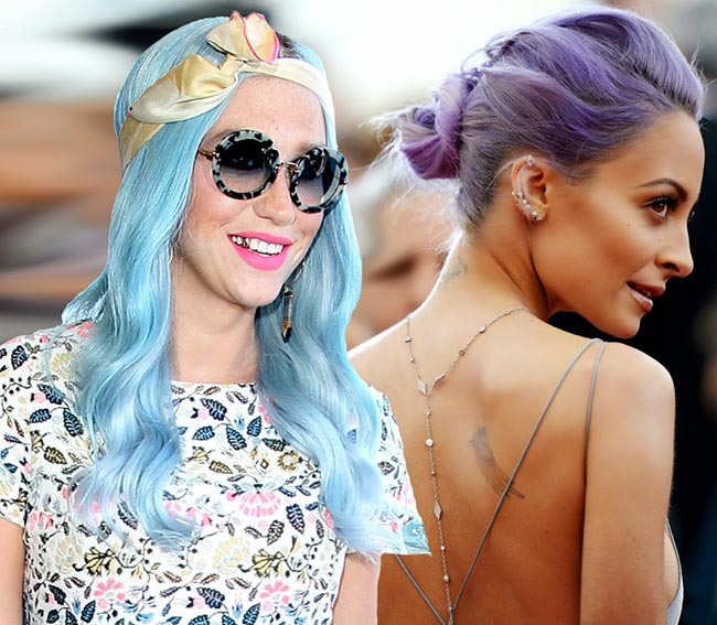 Pretty Pastel Hair Color Ideas