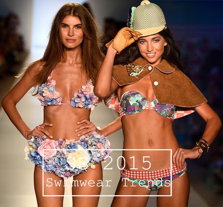 Spring/ Summer 2015 Swimwear Trends