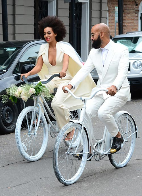 10 of the Most Unique Celebrity Wedding Dresses: Solange Knowles