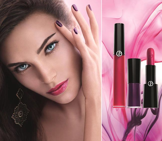 Giorgio Armani Fuchsia Maharajah Spring 2015 Makeup Collection