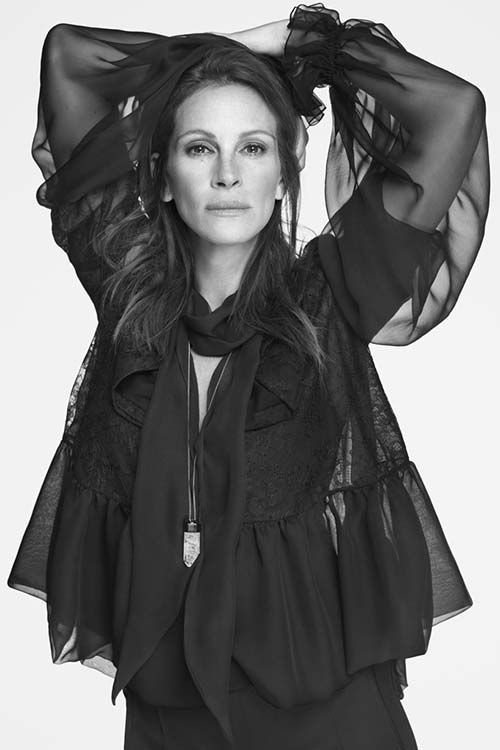 Julia Roberts for Givenchy Spring 2015 Campaign