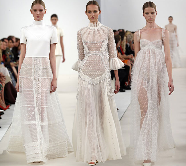 Valentino Couture Sala Bianca 945 New York Collection