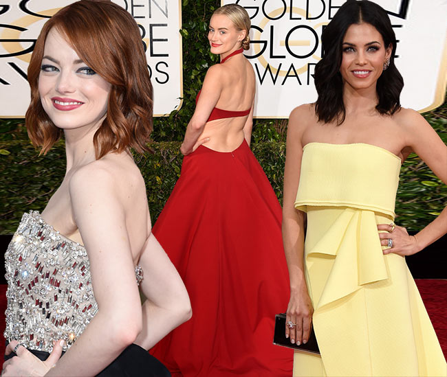 Golden Globes 2015 Best Dressed Celebrities