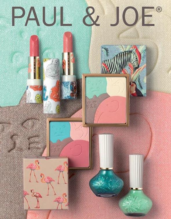 Paul & Joe Menagerie Spring 2015 Makeup Collection