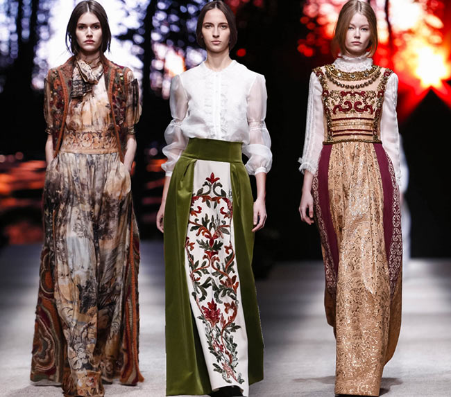 Alberta Ferretti Fall/Winter 2015-2016 Collection - Milan Fashion Week