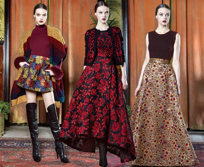 Alice + Olivia Fall/Winter 2015-2016 Collection – New York Fashion Week