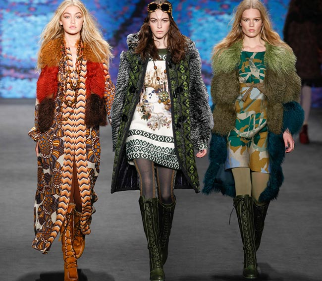 Anna Sui Fall/Winter 2015-2016 Collection - New York Fashion Week