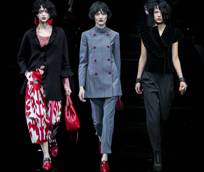 Emporio Armani Fall/Winter 2015-2016 Collection - Milan Fashion Week