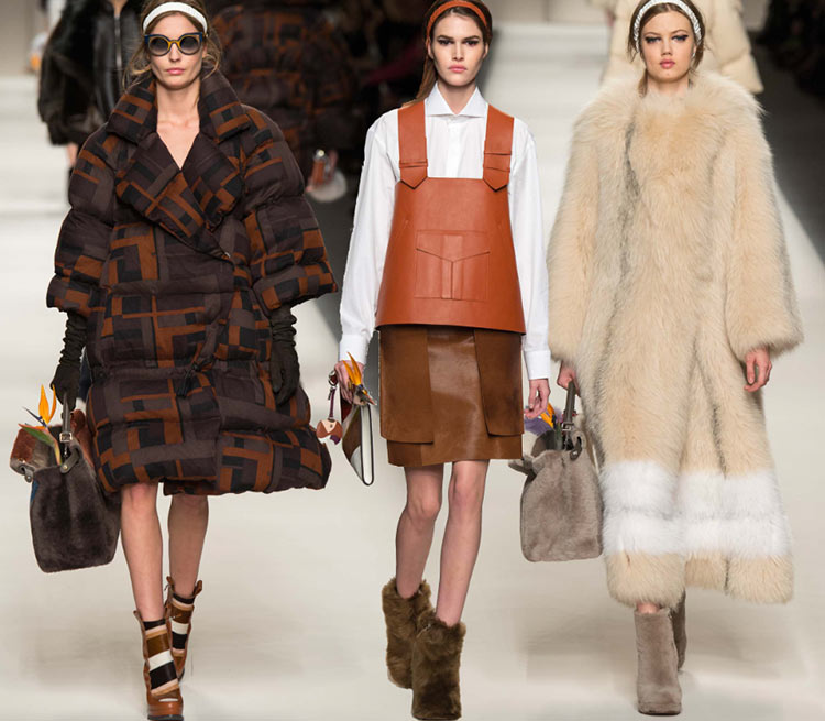 Fendi Fall/Winter 2015-2016 Collection – Milan Fashion Week