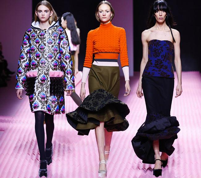 Mary Katrantzou Fall/Winter 2015-2016 Collection – London Fashion Week