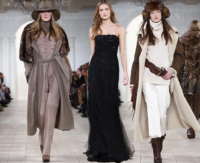 Ralph Lauren Fall/Winter 2015-2016 Collection – New York Fashion Week