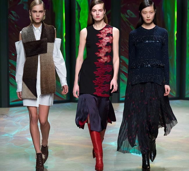 Thakoon Fall/Winter 2015-2016 Collection – New York Fashion Week