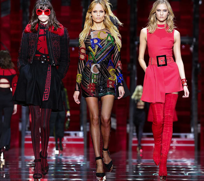 Versace Fall/Winter 2015-2016 Collection - Milan Fashion Week