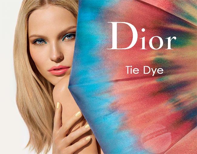 Dior Tie Dye Summer 2015 Makeup Collection