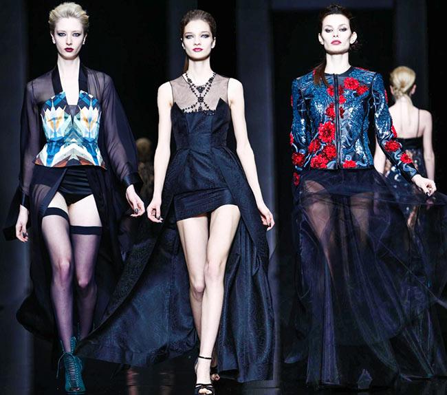 John Richmond Fall/Winter 2015-2016 Collection – Milan Fashion Week