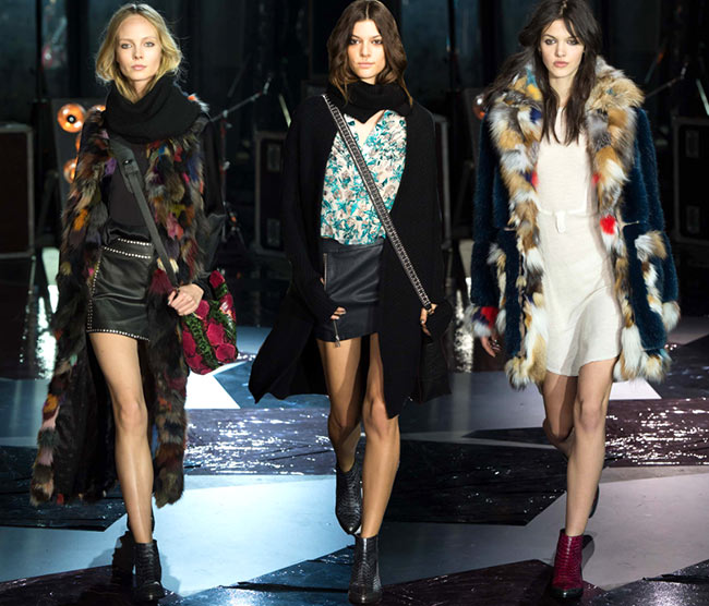 Zadig & Voltaire Fall/Winter 2015-2016 Collection – Paris Fashion Week