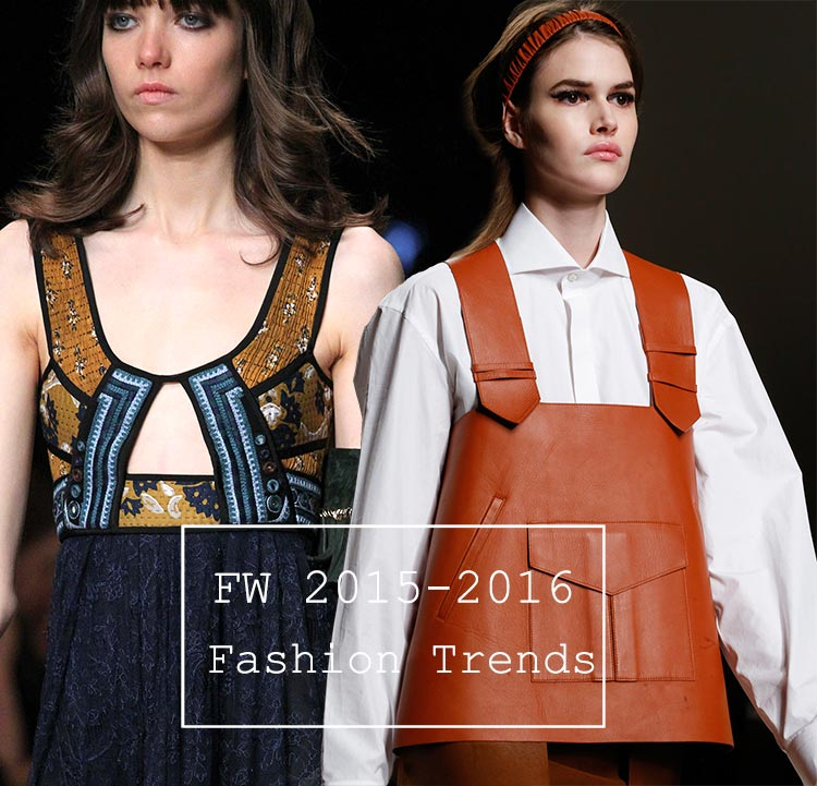 Fall/ Winter 2015-2016 Fashion Trends