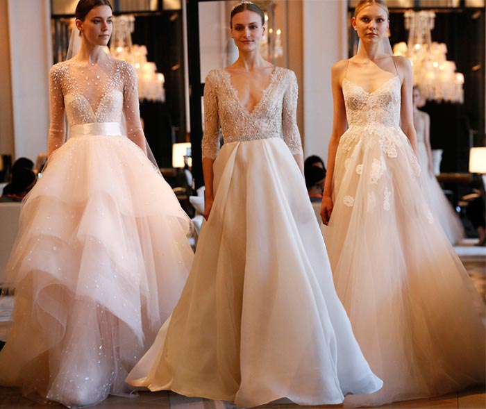 Monique Lhuillier Bridal Spring 2016 Collection