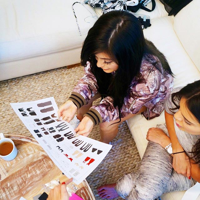 Kendall and Kylie Jenner Design New Topshop Line