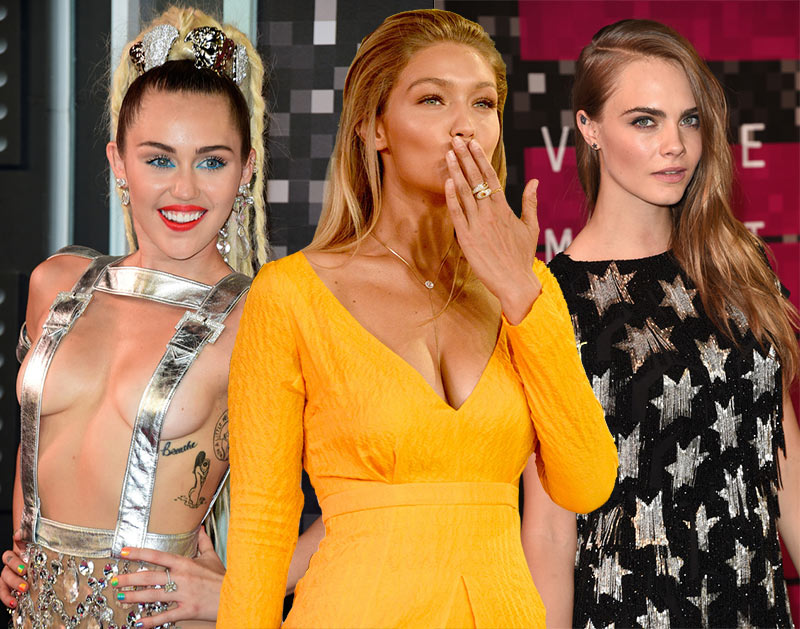 MTV VMAs 2015 Red Carpet Fashion