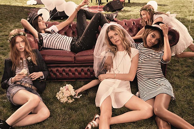 Behati Prinsloo for Tommy Hilfiger's I Do Campaign