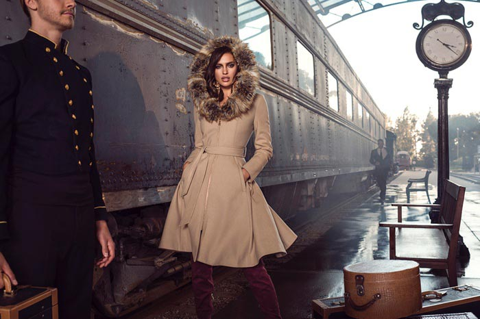 Irina Shayk for Bebe Fall 2015 Campaign