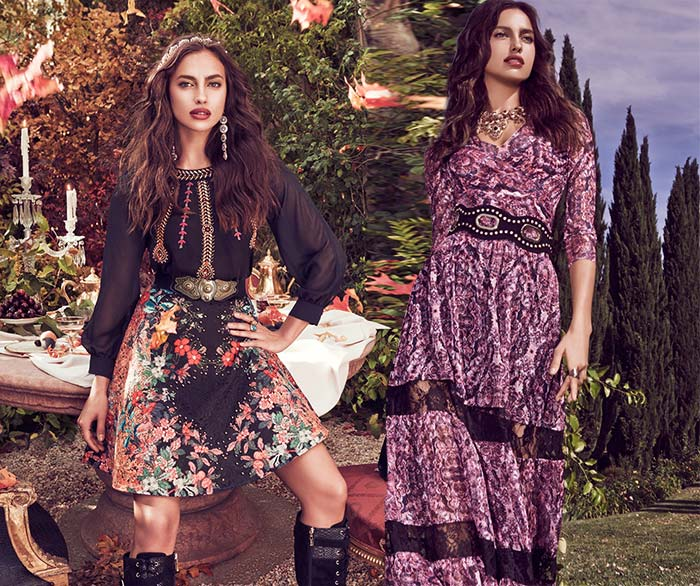 Irina Shayk for Bebe Fall 2015 Collection