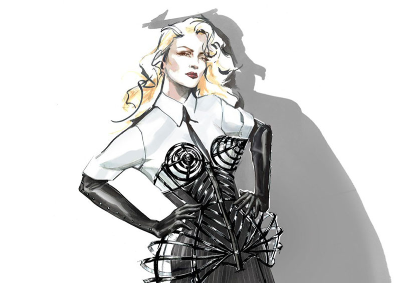 Madonna Teams Up With Gucci, Moschino On New Tour Costumes
