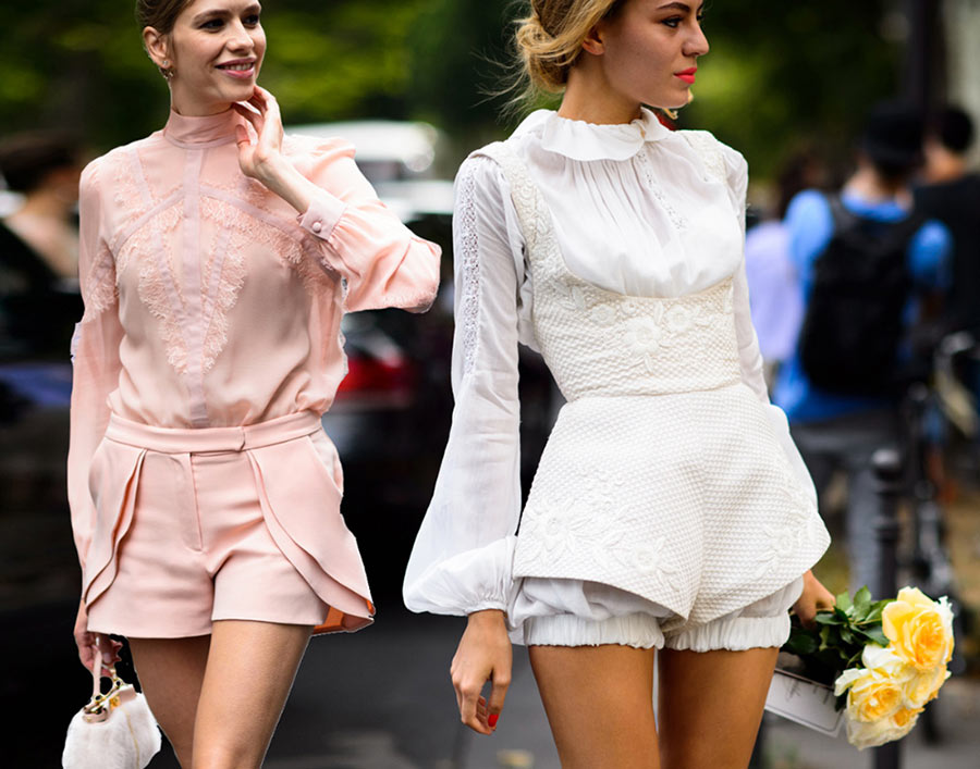 Paris Couture Fashion Week Fall 2015 Street Style