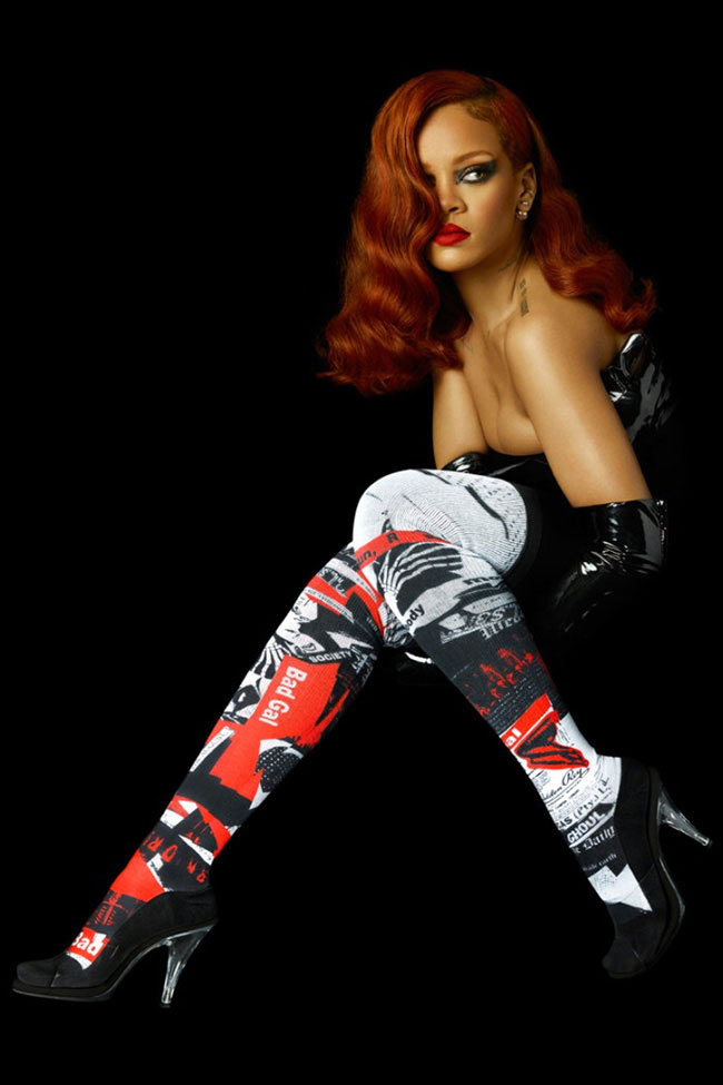 Rihanna Designs Socks Now