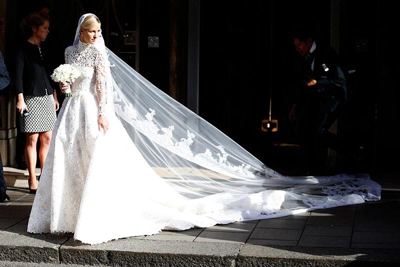 Nicki Hilton's Wedding Dress From Valentino Is Pure Magic!