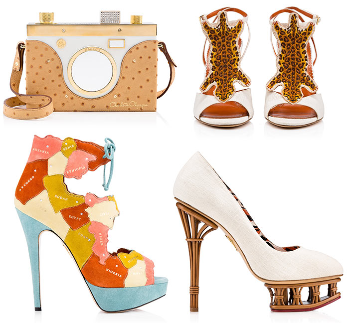 Charlotte Olympia Spring/Summer 2016 Shoes and Bags