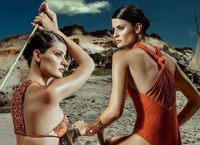 Isabeli Fontana for Agua de Coco 2016 Swimwear Campaign