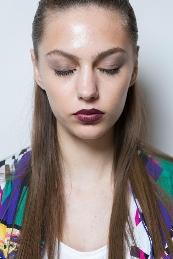 New York Fashion Week Spring 2016 Beauty: Vampy Lips