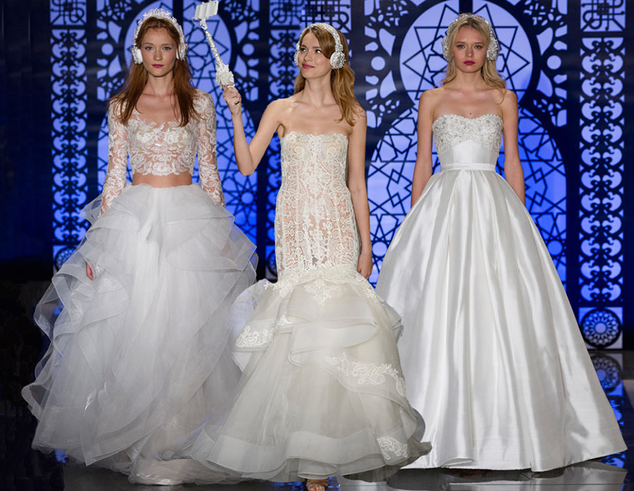 Reem Acra Fall 2016 Bridal Collection