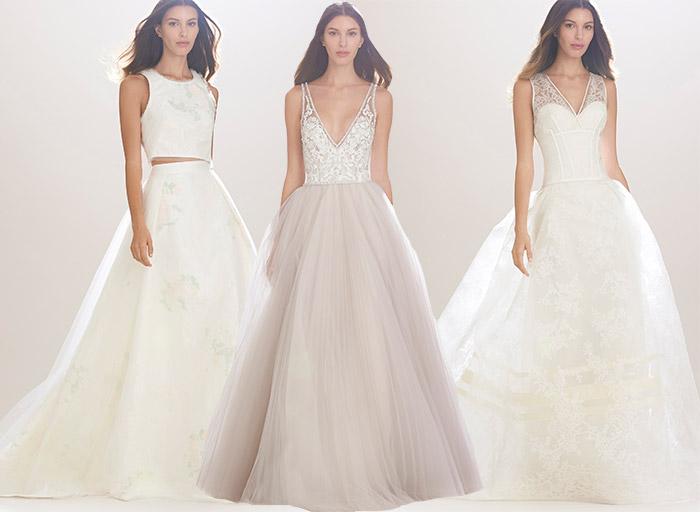 Carolina Herrera Fall 2016 Bridal Collection