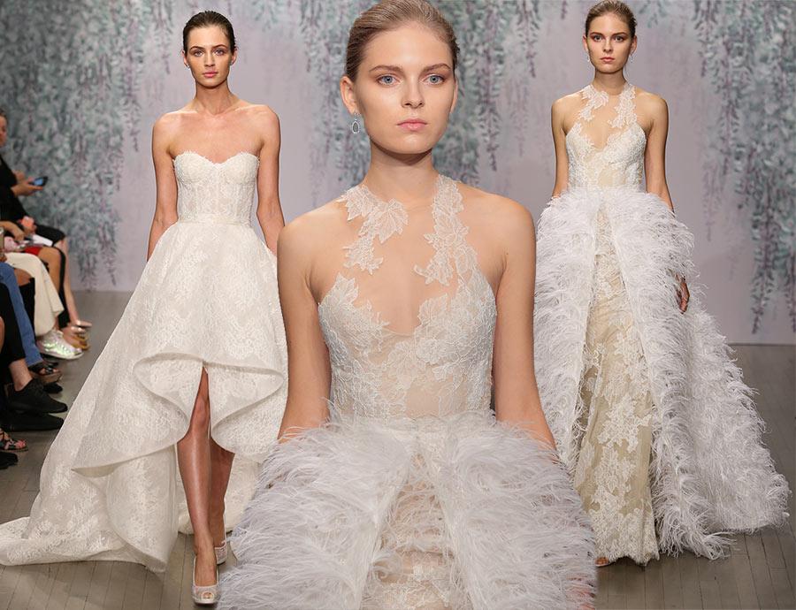 Monique Lhuillier Fall 2016 Bridal Collection