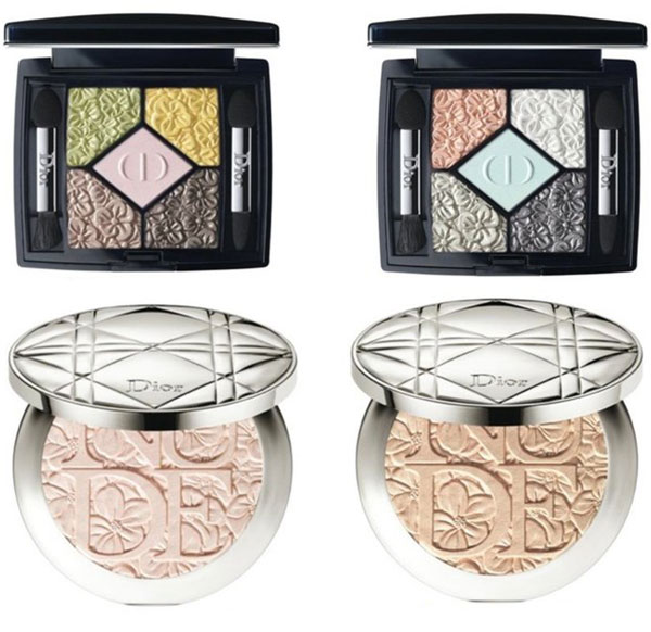 Dior Glowing Gardens Spring 2016 Makeup Collection