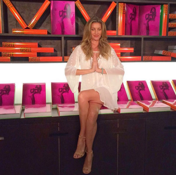 Gisele Bundchen's Book Worth $700 Sold Out!