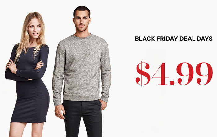 H&M Black Friday Deals 2015