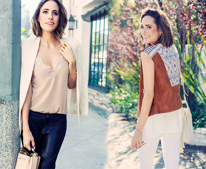 Louise Roe for AS by DF Collection