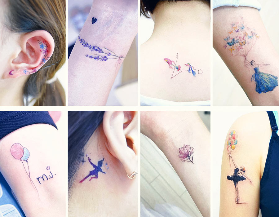 Small Tattoo Designs For Girls: 50+ Absolutely Cute Small Tattoos For Girls With Their