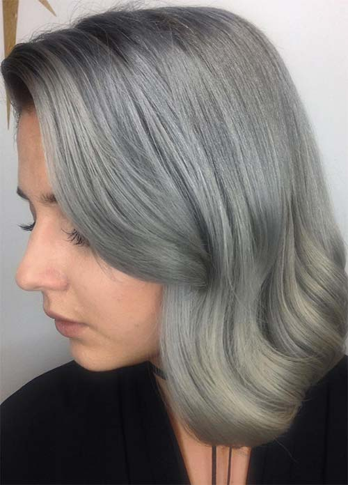 How to Maintain Gray or Silver Hair