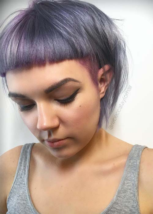 50 Short Bob Hairstyles & Haircuts With Bangs